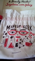 Sephora Play! August 2017 Makeup Geek Bag (Bag Only)
