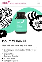 DAILY CLEANSE helps clear your skin & body from toxins