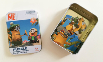 Minions Mini Puzzle Tin