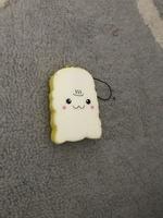 Kawaii Toast Squishy Charm