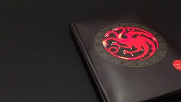Game of Thrones light-up notebook