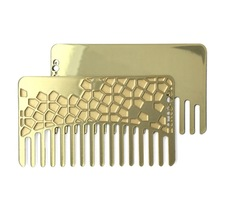 Go-Comb Brass Tile Mirror