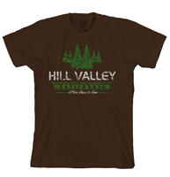 "Back to the Future Tshirt - Hill Valley California ""A Nice Place to Live"" Unisex Size Large"