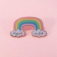 Little Arrow Cloisonne Pin