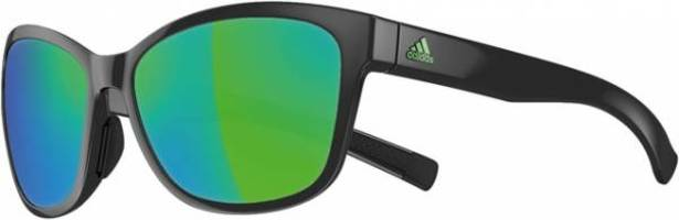 a428 Adidas Excalate black shiny/green lens sunglasses