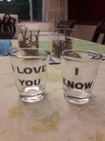 Geek Love Shot Glasses