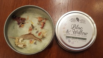 Lilac & Willow Soy Candle No 1 Smudge