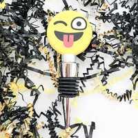 Emoji Wine Bottle Stopper
