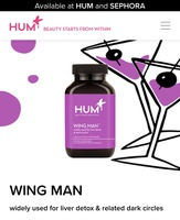 WING MAN widely used for liver detox & related dark circleS