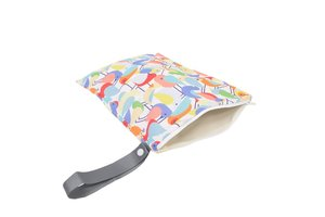 Itzy Ritzy Sealed Wet Bag - Robin in the Hood