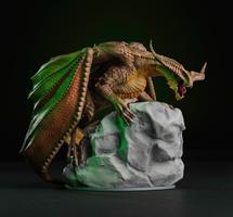 Dragon Age Inquisition High Dragon Figure
