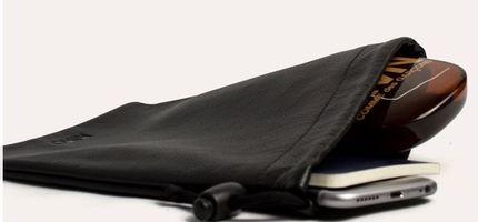 Kiko Leather Accessory Pouch