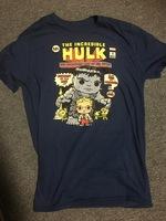 The Incredible Hulk comic shirt