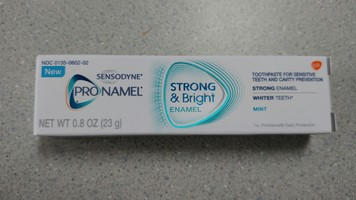 Sensodyne Pro Namel Strong & Bright Enamel Toothpaste