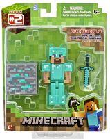 Minecraft Steve with Diamond Armor Figure