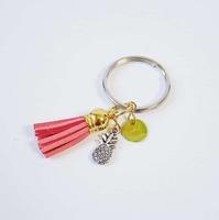 Mini Pineapple Tassel Keychain