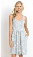 Gilli Dress- Splatter Print