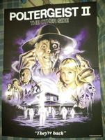 """Poltergeist II: The Other Side Poster 18"""" x 24"""" Shout / Scream Factory Brand New"""