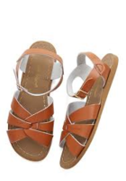 ModCloth Salt Water Leather Sandal - Tan