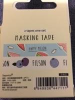 Filson washi tape.