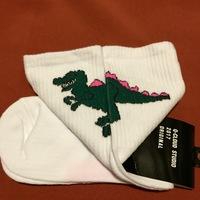 Q-Cloud Studio Dinosaur Socks 2017 Original M-XL