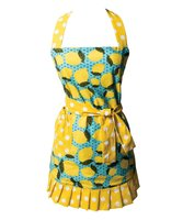 Simply Whimsical Lemon Cora Apron