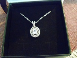 """Zelda """"Bliss"""" 18k White Gold-Plated Necklace"""