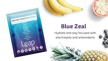 Leap Instant Smoothie Bowl in Blue Zeal