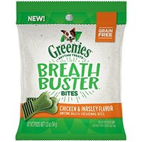 Greenies Breath Buster Bites Chicken & Parsley Flavor Fresh Breath Dental Dog Treats