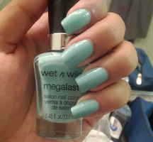 Wet n Wild Megalast Salon Nail Color in I Need A Refresh-Mint