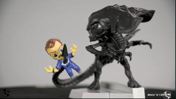 Aliens figure Loot Crate exclusive