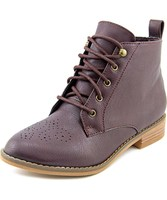 Have one to sell? Sell now Rocket Dog Menosi Women Round Toe Synthetic Burgundy Ankle Boot-7