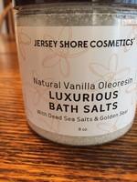 Jersey Shore Natural Vanilla Oleoresin Luxurious Bath Salts