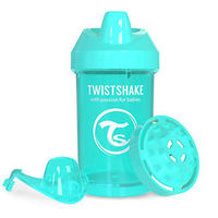 Twistshake 10 oz. Plastic Crawler Cup in Turquoise