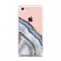 The Casery iPhone 6/7 Case in Light Blue Agate