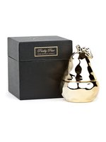 D.L. & Co Gold Pear Candle