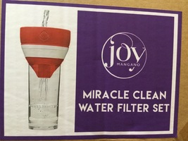 Joy Mangano Miracle Clean Water Filter Set