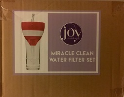 JOY Miracle Clean Water Filter Set with Case and Bottle
