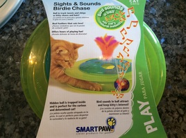 Smart paw Sights & Sounds Birdie Chase