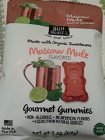 Project 7 Moscow Mule Gourmet Gummies