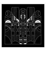Gate to the Universe 6x6 Art Print