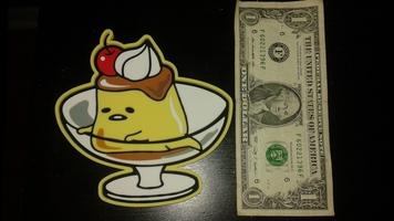 Sanrio Gudetama custard coaster
