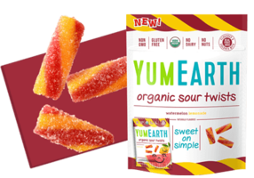 YumEarth Organic Fruit Sour Twists