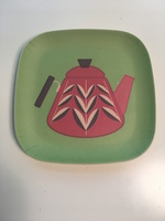 Teapot Bamboo catch-all tray
