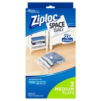 Ziploc Space Bags 2 Medium Flats