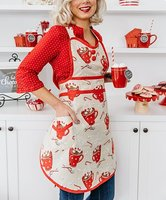 Simply Whimsical Hot Chocolate Ruby Apron