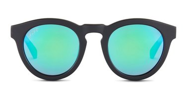Diff Dime II Matte Black with Blue Mirror Polarized Lenses - Add Ons