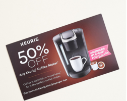 50% Off Keurig Coffee Maker Coupon