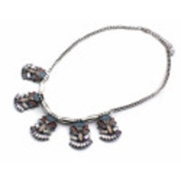 Mia Silver Statement Necklace