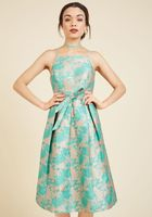Penchant for Opulence A-Line Dress